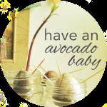 Button Avocado Baby