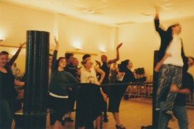 Rehearsal for Grand Hotel in the Playhouse